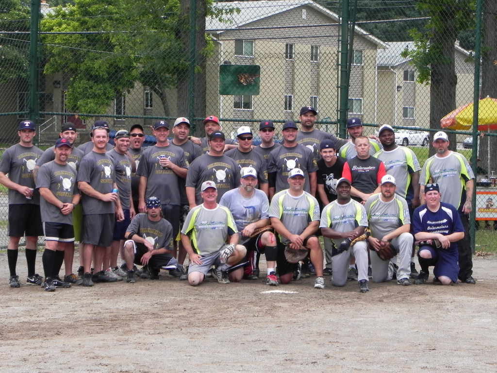 Local 85 vs 169 Softball 2014